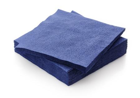 servilleta: Pila de nuevas servilletas de papel desechable