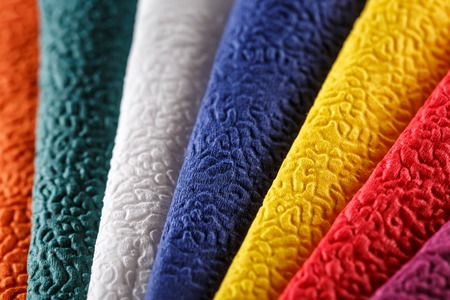 servilletas: Collection of new colorful paper table napkins
