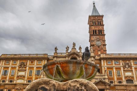 Basilica Santa Maria Maggiore Rome Italy