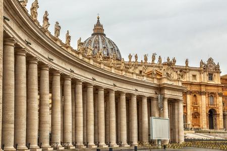 Piazza San Pietro, Vaticano Foto de archivo