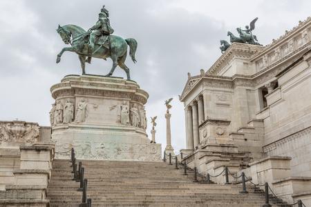 Monument of Vittorio Emanuele II, Rome, Italy Stok Fotoğraf - 120527106