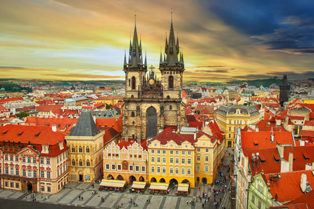 Prague Old Town Square Czech Republic