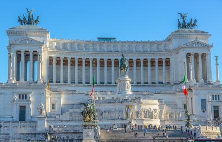 Monument of Vittorio Emanuele II, Rome, Italy Stok Fotoğraf - 120527107