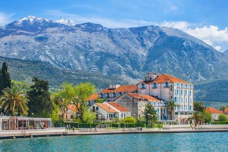 Seaside landscape in Montenegro