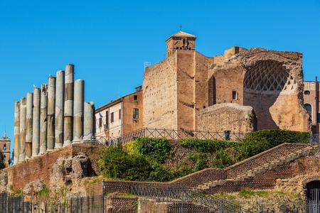 At Roman Forum, Rome, Italy