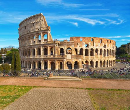 Roman Colosseum, Rome, Italy Stok Fotoğraf - 120508697