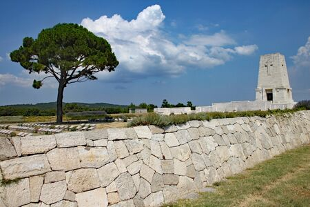 Lone Pine cemetary in Turkey, commemorating th Anzac troops who died at the battle of Gallipoli