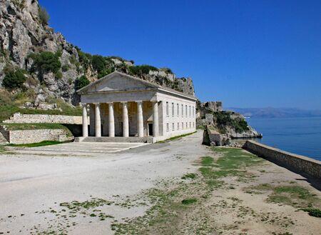 Saint Georges Church in Corfu Town, Corfu, Greece