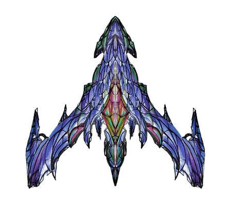 fantasy alien: FANTASY alien ufo 9