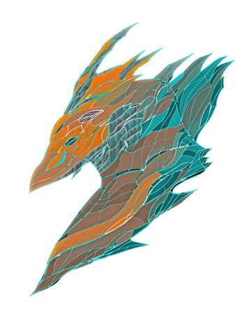 sic: fantasy Phoenix head icon