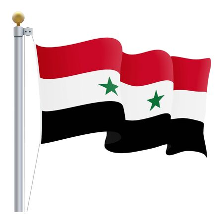 gloss: Waving Syria Flag