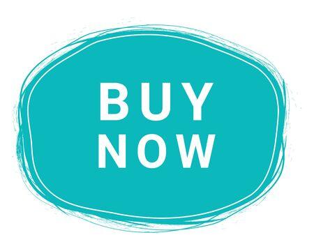 Buy Now, Speech Bubble Banner, Element Design Template, App Icon, Vector Illustration. Eps 10