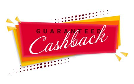 Cash Back Banner Template Design.
