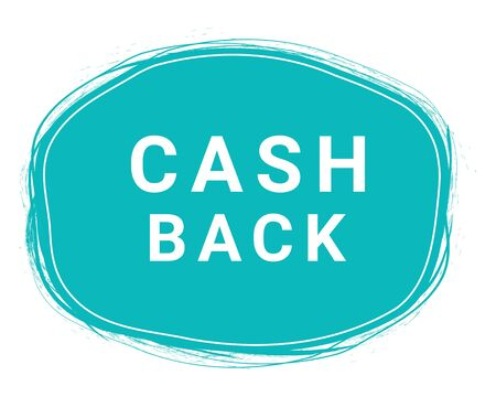 Cash Back, Speech Bubble Banner, Element Design Template, App Icon, Vector Illustration. 矢量图像