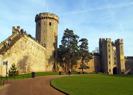 Warwick castle - a day trip from London in UK photo