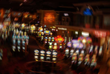 The slot machines in Las Vegas casino  Stock Photo - 876209