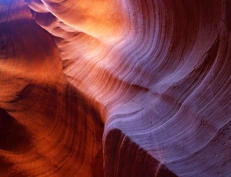 The upper Antelope Slot Canyon near Page  in  Arizona USA Stock Photo - 878212