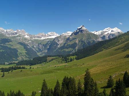 titlis snow mountain near luzern switzerland