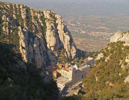 montserrat: Montserrat monastery near Barselona