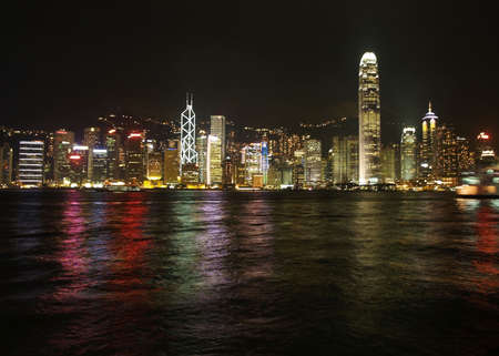 Hongkong night skylines Stock Photo - 882882