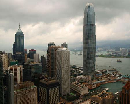 world trade center in hong kong Stock Photo - 882883