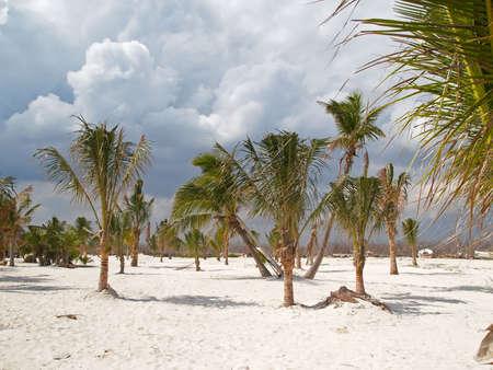 A beach resort in Cancun Mexico photo