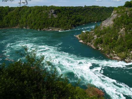 the whirlpool down under the Niagara Falls  Reklamní fotografie