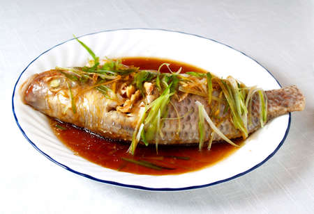 Chinese tratitional family dish Stock Photo