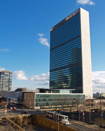 quartier g�n�ral: Si�ge des Nations Unies � New York