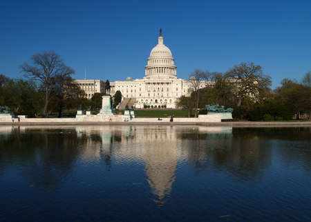 congressional: The Capitol building in Washington D.C.