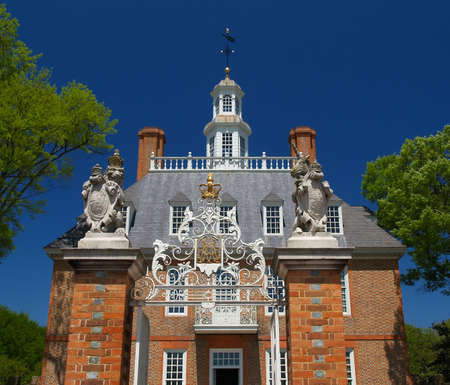 The Governor's Mansion in Williamsburg Virginia