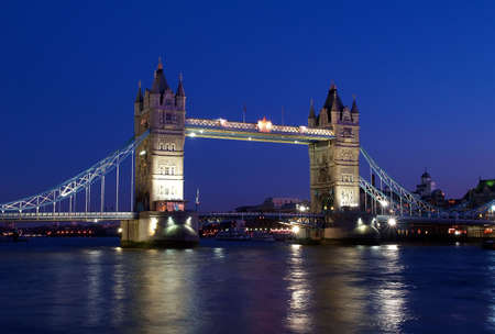 bigben: Tower Bridge and the River Tham Stock Photo