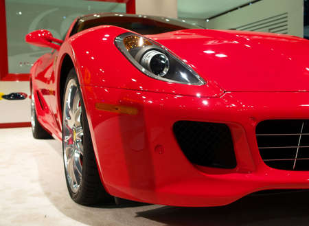 A Luxury Car dislayed at International Auto Show - 2007 in NYC Stock Photo - 925336