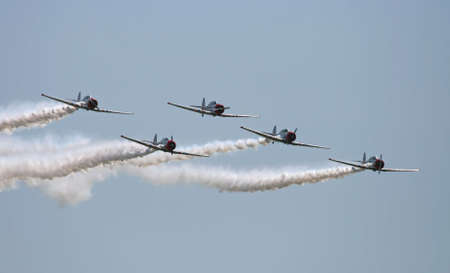 The air show in New Jersey Stock Photo