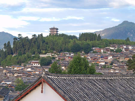 yunnan: A historical town - Lijiang China, named as a World Cultural Heritages by UNESCO in 1997.
