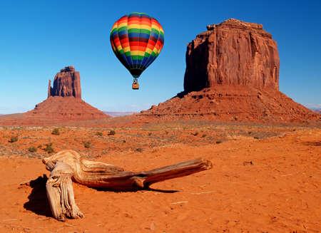 tribal park: Monument Valley Navajo Tribal Park in Utah  Stock Photo