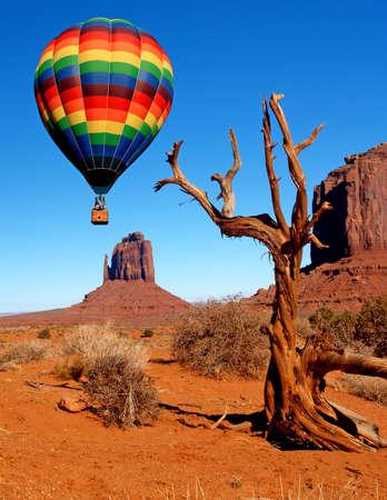 Monument Valley Navajo Tribal Park in Utah Stock Photo - 1505157