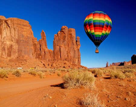 Monument Valley Navajo Tribal Park in Utah  Stock Photo