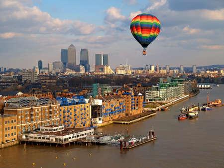 Veduta aerea della città di Londra