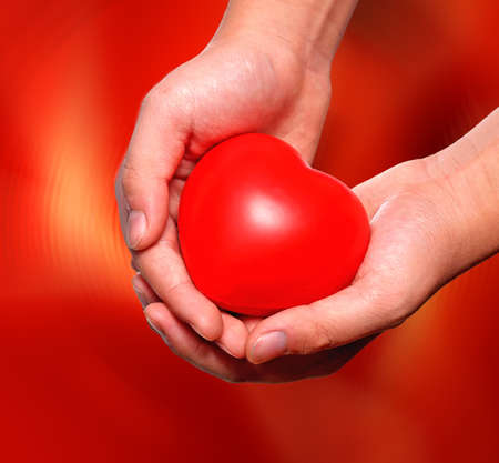 globulo rojo: Amorosa y el cuidado - una expresi�n conceptual