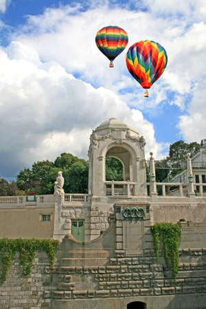 The famous stadtpark in Vienna, Austria  photo