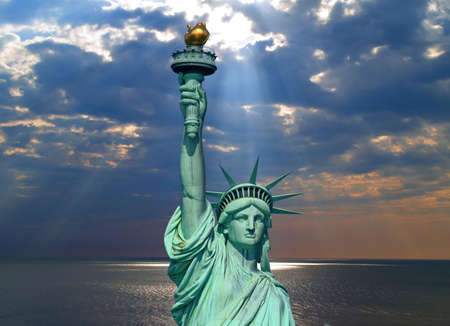 The Statue of Liberty in New York City     Stockfoto