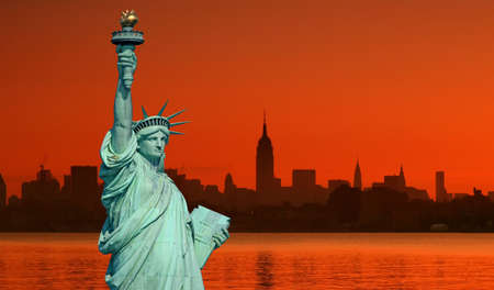 The Statue of Liberty in New York City Stock Photo - 1914498