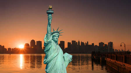 The Statue of Liberty in New York City Stock Photo - 1914504