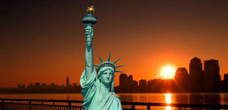 The Statue of Liberty in New York City       Stock Photo - 1914499