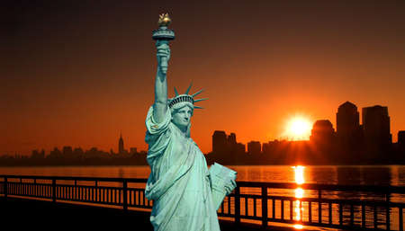 The Statue of Liberty in New York City Stock Photo - 1914502
