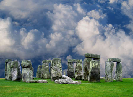 antiquarian: The Stonehenge in UK, it is still a mystery  Stock Photo