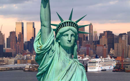 The Statue of Liberty in New York City       Stock Photo - 1961429