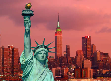 The Statue of Liberty in New York City Stock Photo - 1961413
