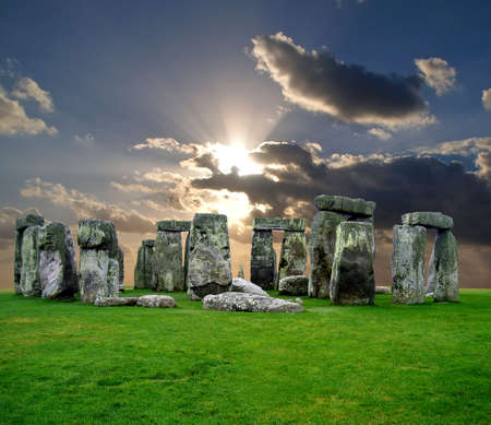 The Stonehenge in UK, it is still a mystery  Stock Photo